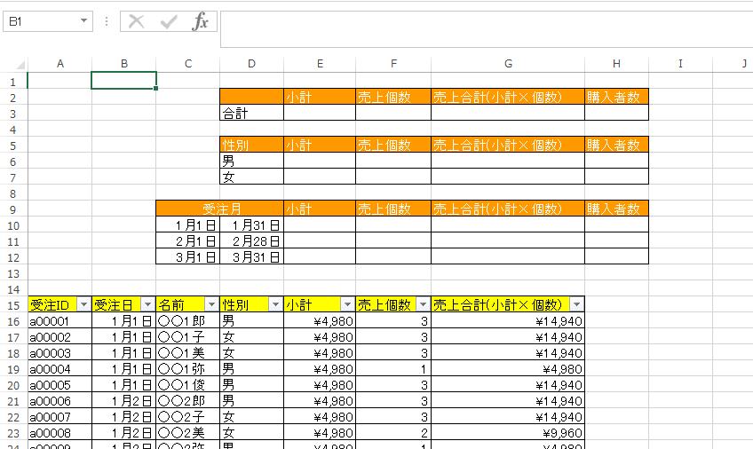 エクセル 計算 式 足し算 ボタン1つで簡単!Excelで足し算(集計)をする方法|Office